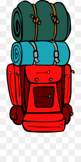 260x520 Backpacking Hiking Clip Art