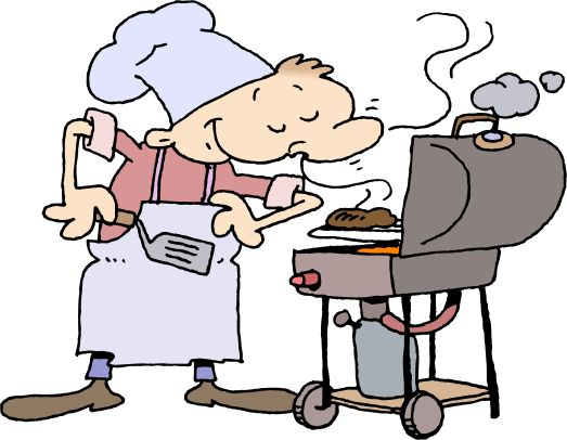 523x406 Barbecue Clipart Backyard Bbq
