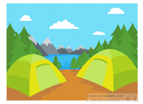 500x364 Collection Of Backyard Camping Clipart High Quality, Free
