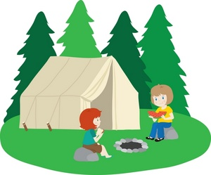 300x249 Clip Art Camping Pictures Backyard Campout Clipart 4