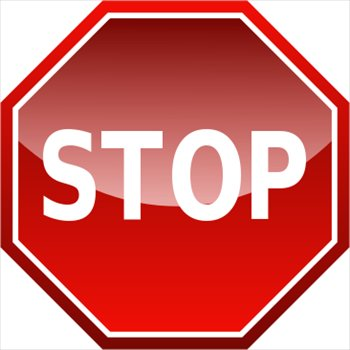 350x350 Stop Sign Clip Art Free Free Collection Download And Share Stop