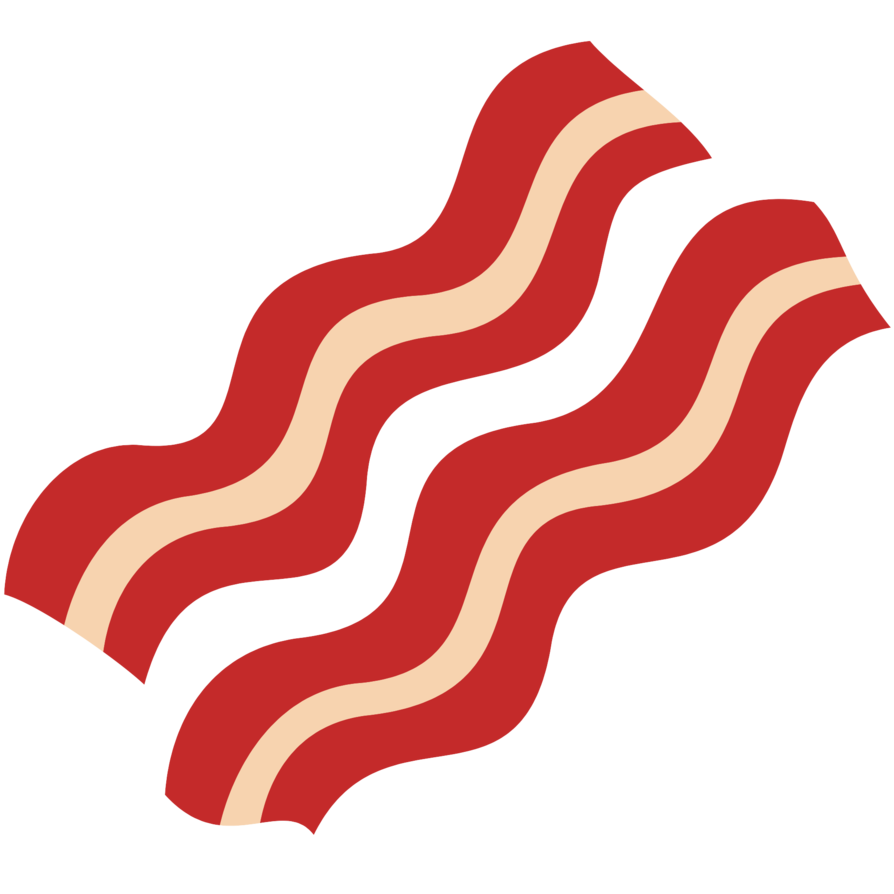894x894 Collection Of Bacon Clipart Transparent High Quality, Free