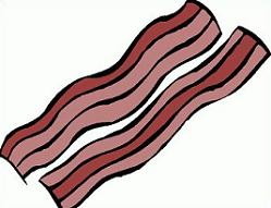249x191 Free Bacon Clipart