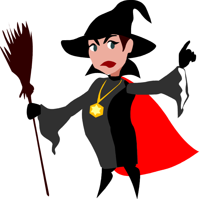 700x698 Evil Witch Clipart