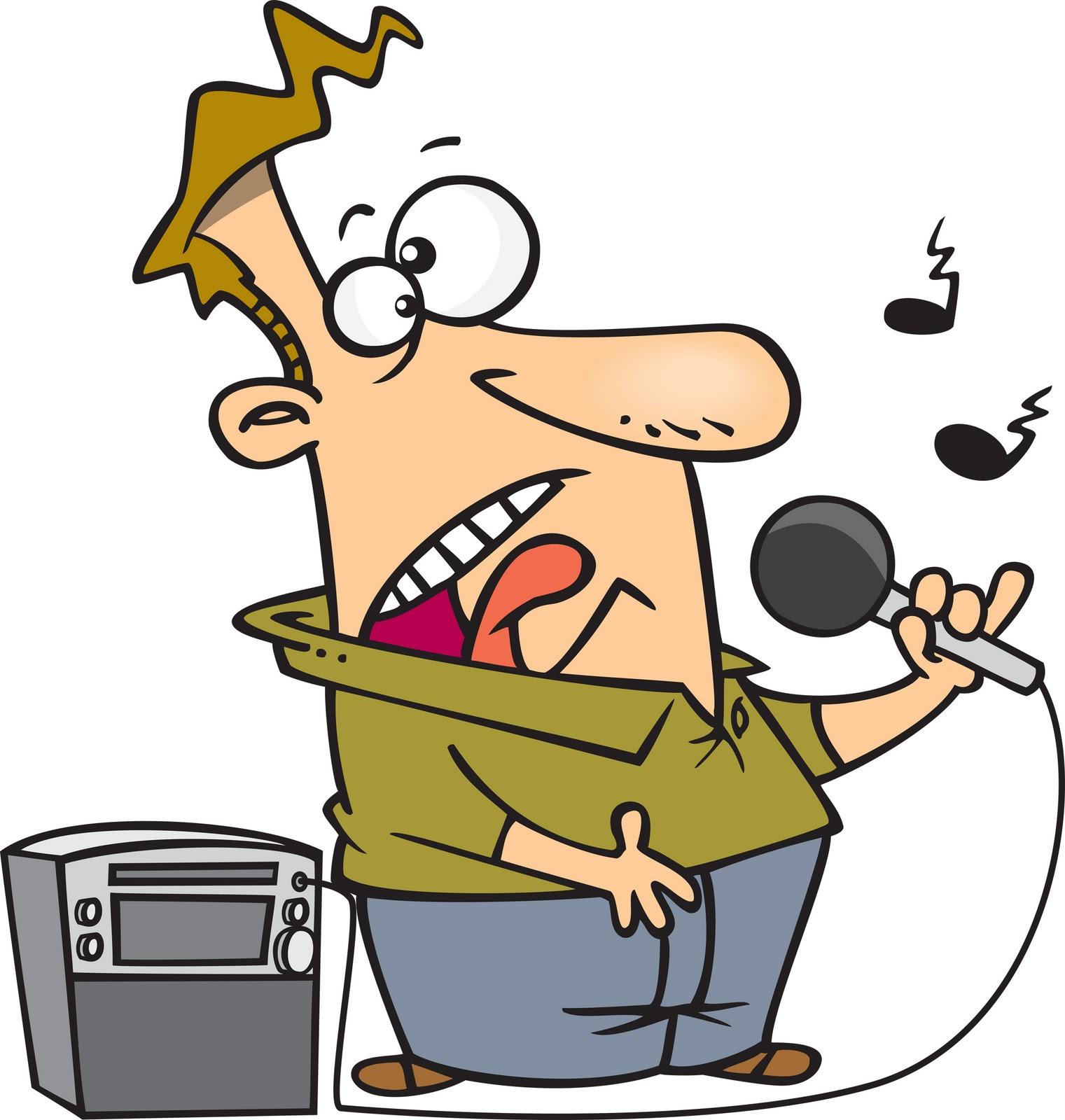 1521x1600 Free Funny Karaoke Clipart