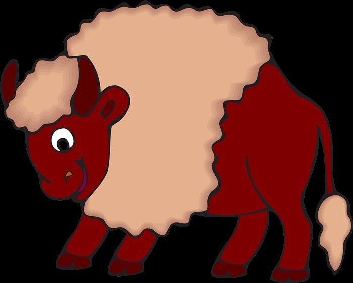 700x561 Top 80 Bison Clipart