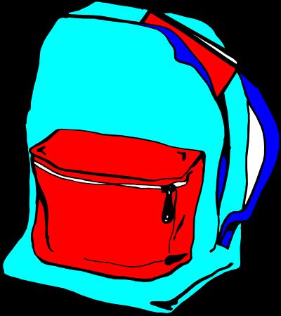 400x449 Book Bag Clipart Free Download Clip Art Free Clip Art