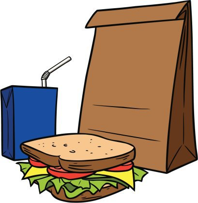 409x419 Lunch Bag Clipart Brown Bag A Movie Wednesday April 25