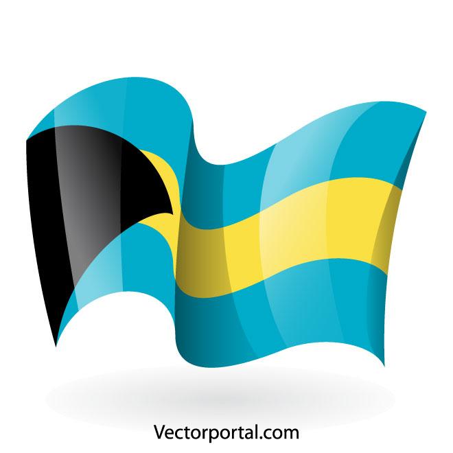 660x660 Bahamas Flag Clip Art