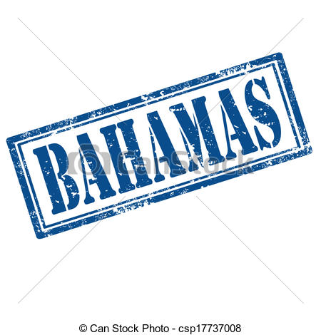 450x470 Bahamas Stamp. Grunge Rubber Stamp With Text Bahamas,vector