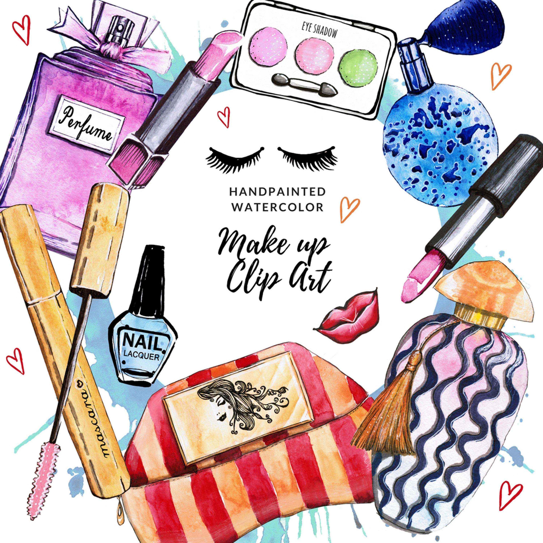 3000x3000 Cosmetics Clipart Fashion Clip Art Makeup Clip Art Planner
