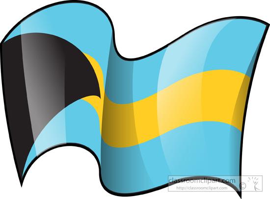 550x405 Bahamas Flag Clipart