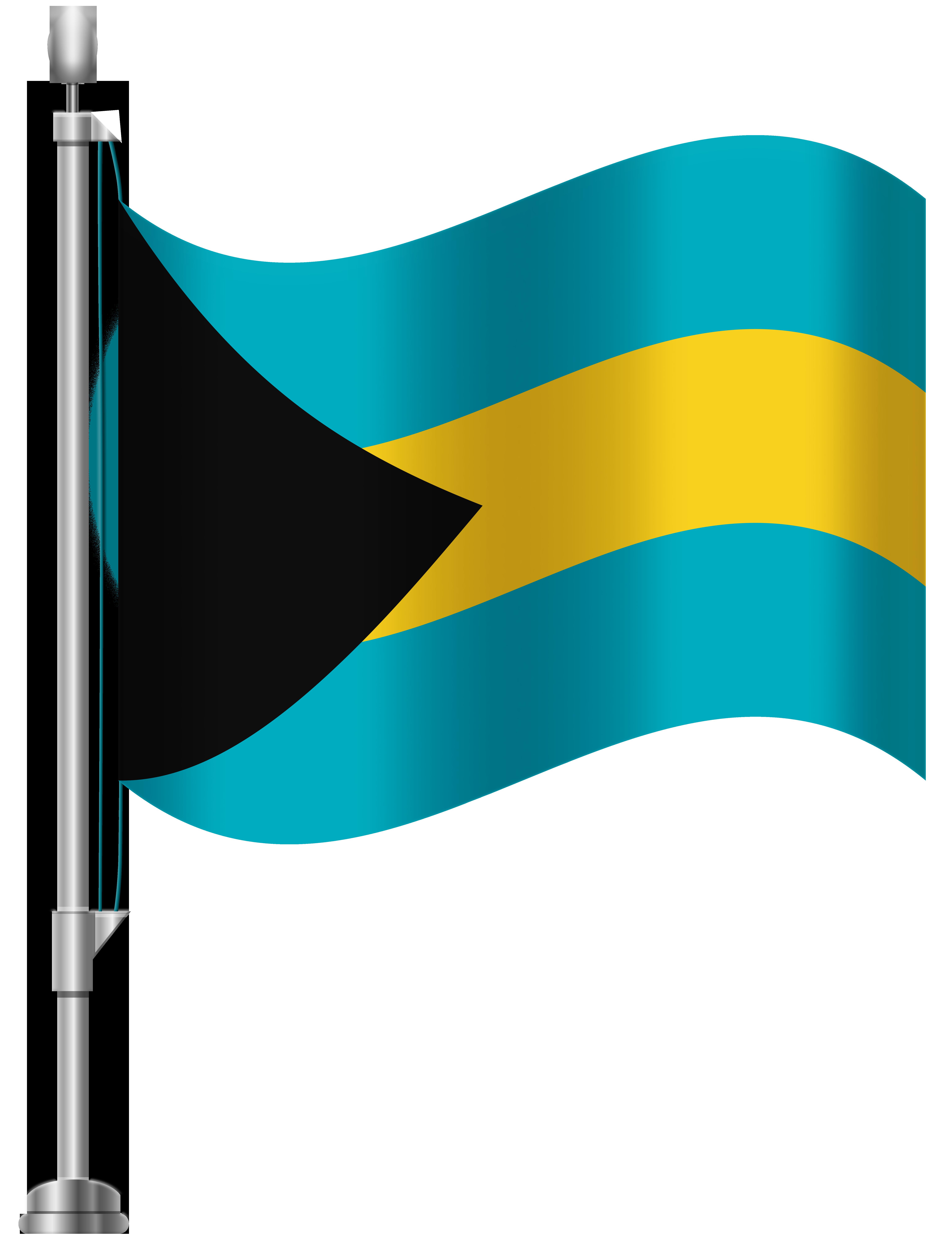 6141x8000 Bahamas Flag Png Clip Art
