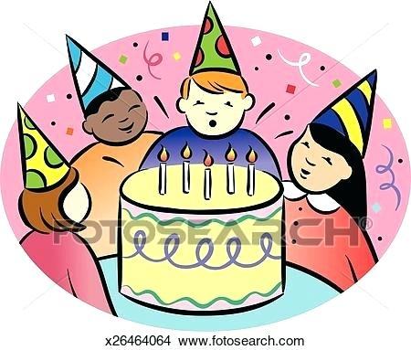 450x383 Birthday Party Clip Art Images Download Celebrating Birthday Boy