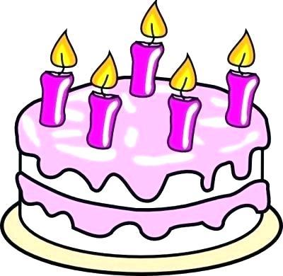 400x390 Clip Art Of Birthday Cake Birthday Cake Cupcake Icing Clip Art