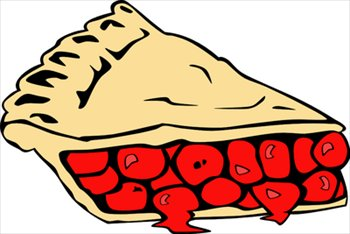 350x234 Free Cherry Pie Clipart