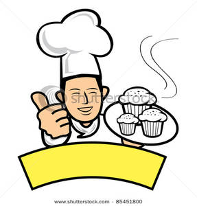 287x300 Baker Giving A Thumbs Up Clipart Image