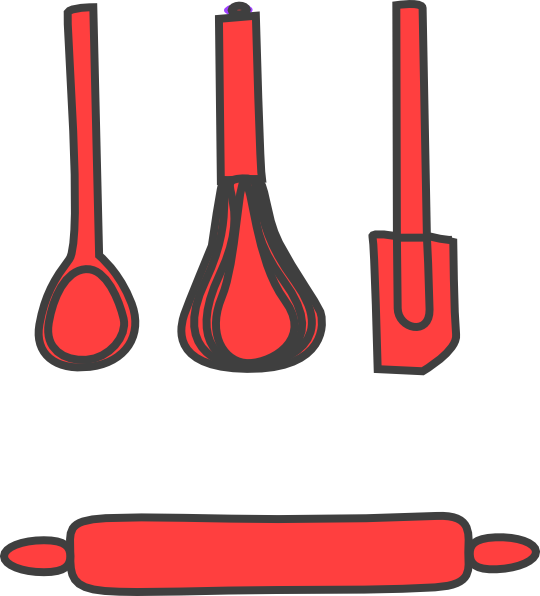 540x596 Bakery Red Clip Art
