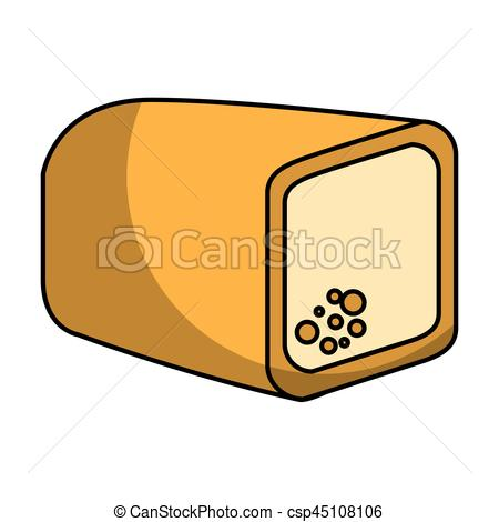 450x470 Delicious Toast Bread Bakery Product Vector Illustration Vector