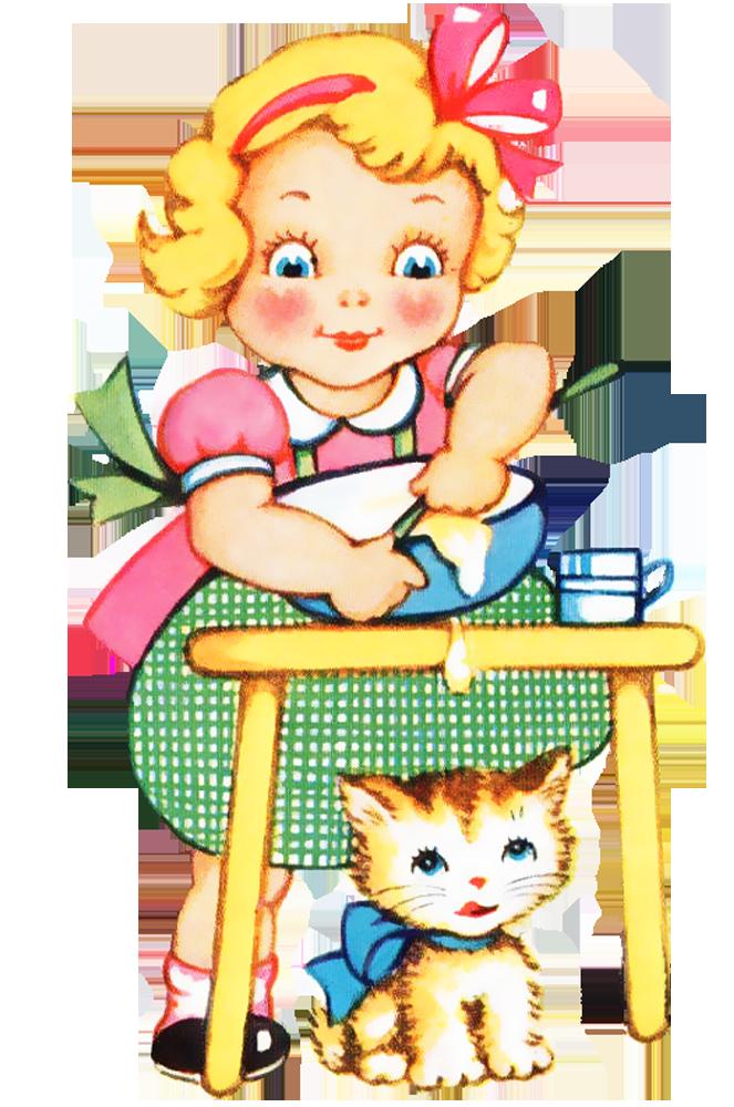 663x1000 The Kitchen Clipart Child Baking