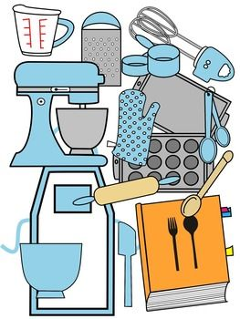 263x350 Baking Clip Art Baby Blue And Black And White Clip Art And School