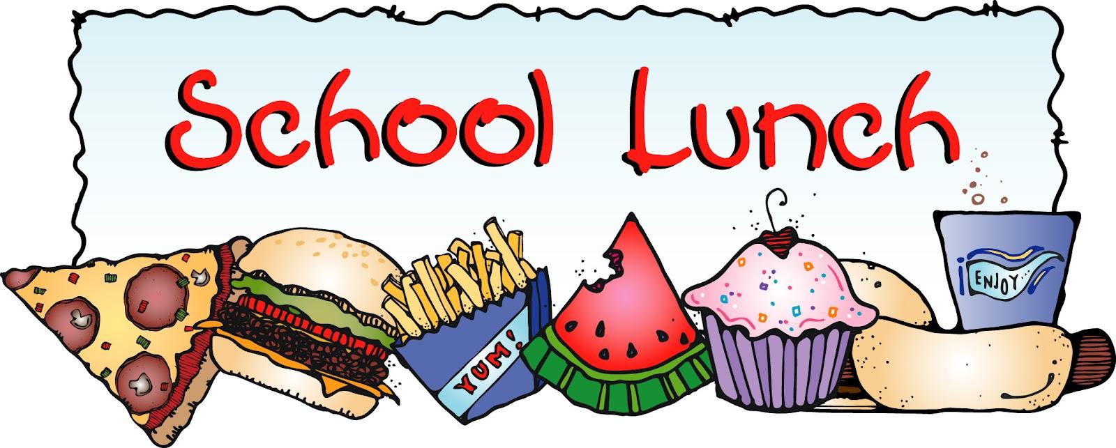 1600x643 School Lunch Clip Art Free