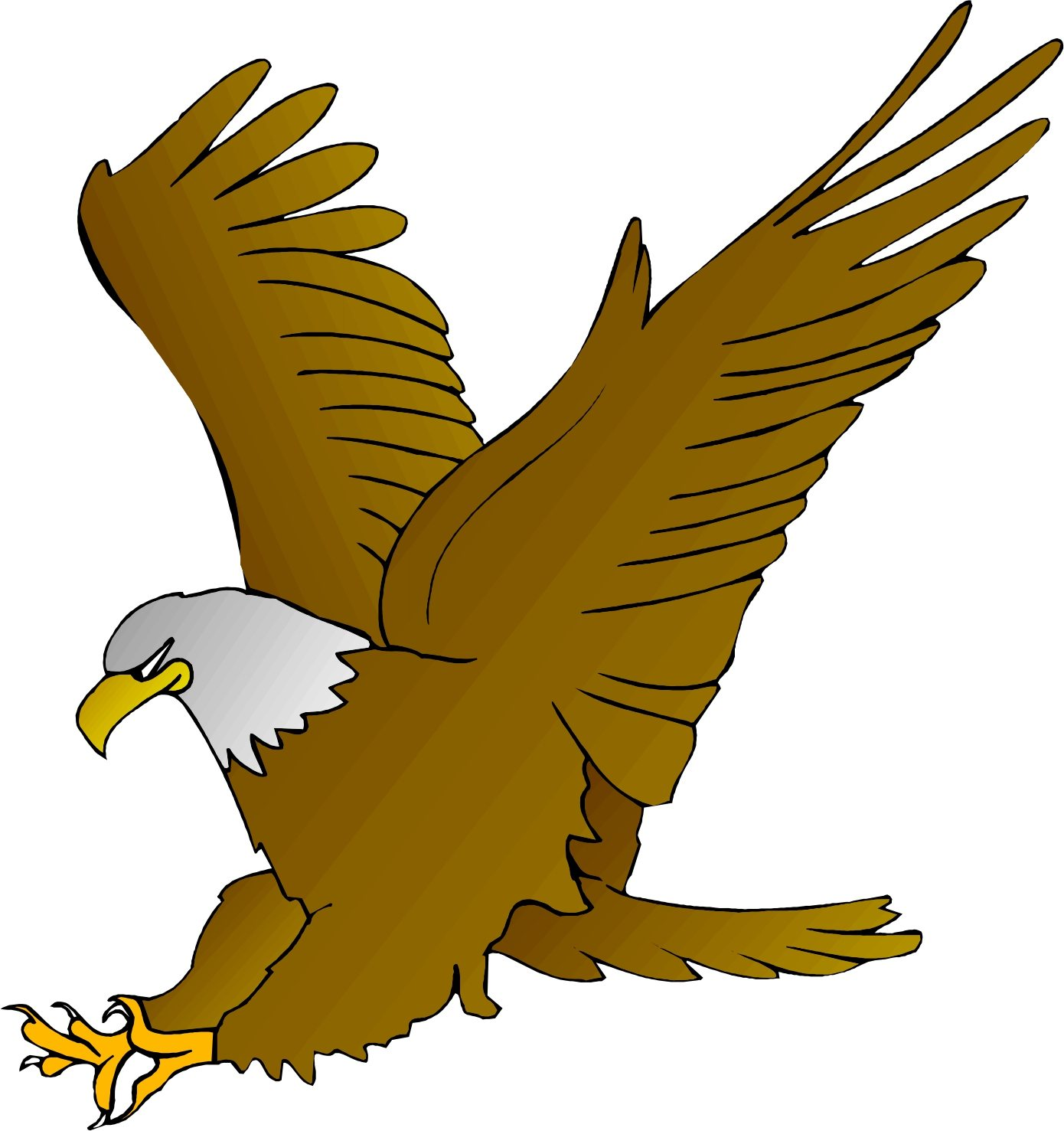 1390x1477 Clip Art Of Eagles Flying Images On Page 0 Yanhe Clip Art