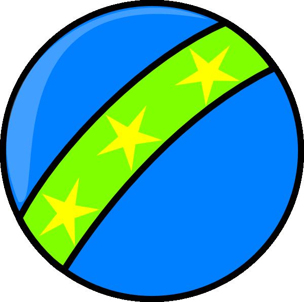 600x596 Blue Toy Ball Clip Art