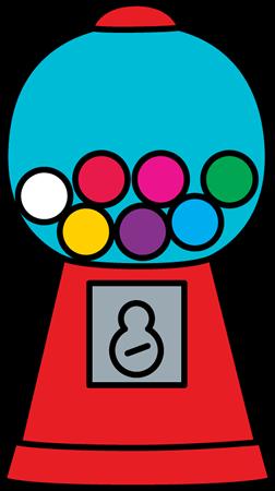 252x450 Bubblegum Clip Art