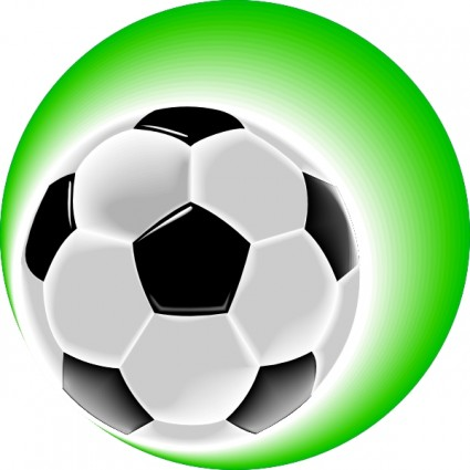 425x425 Girl Kicking Soccer Ball Clip Art Free Clipart