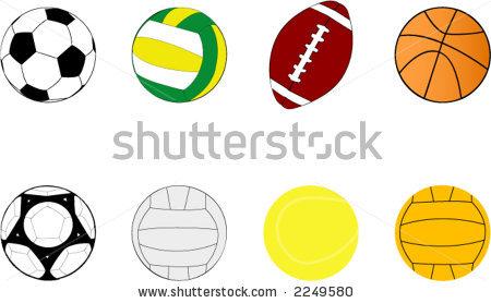 450x278 Sports Balls Clip Art Space Clipart