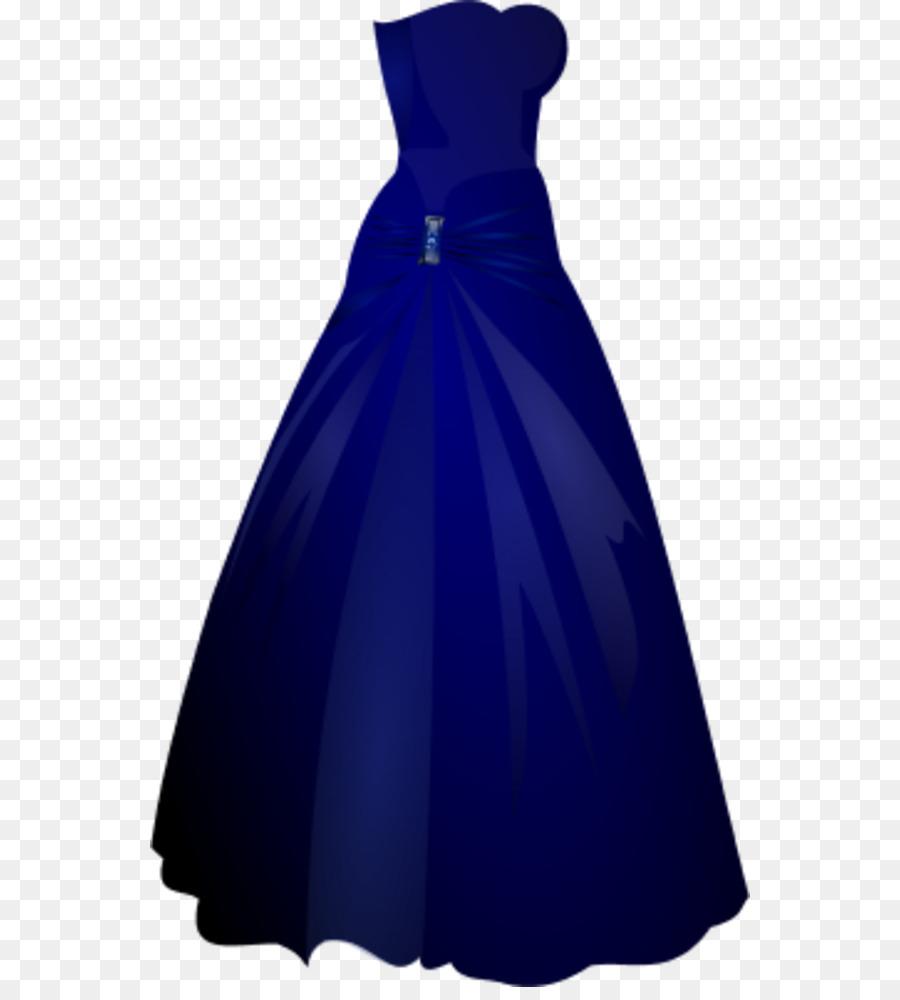 900x1000 Dress Blue Gown Clip Art