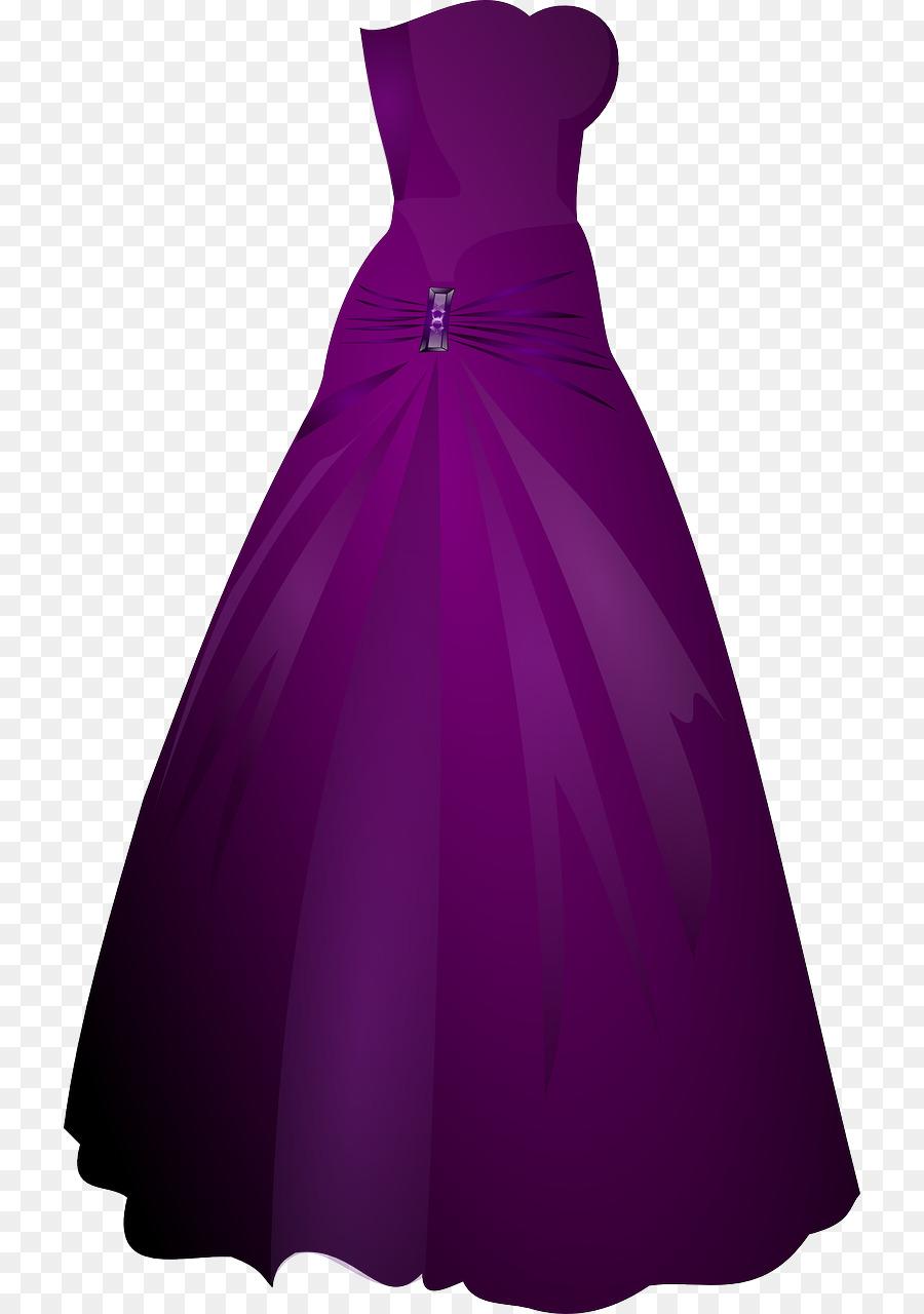 900x1280 Evening Gown Dress Formal Wear Clip Art