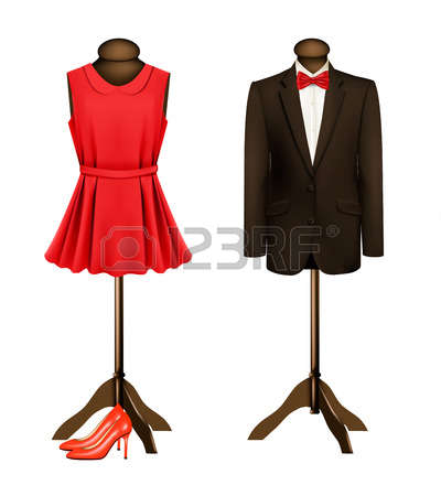 400x450 Formal Wear Clipart Free