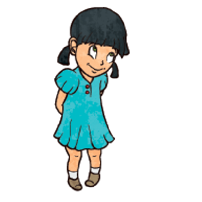 399x399 Blue Dress Clipart Animated