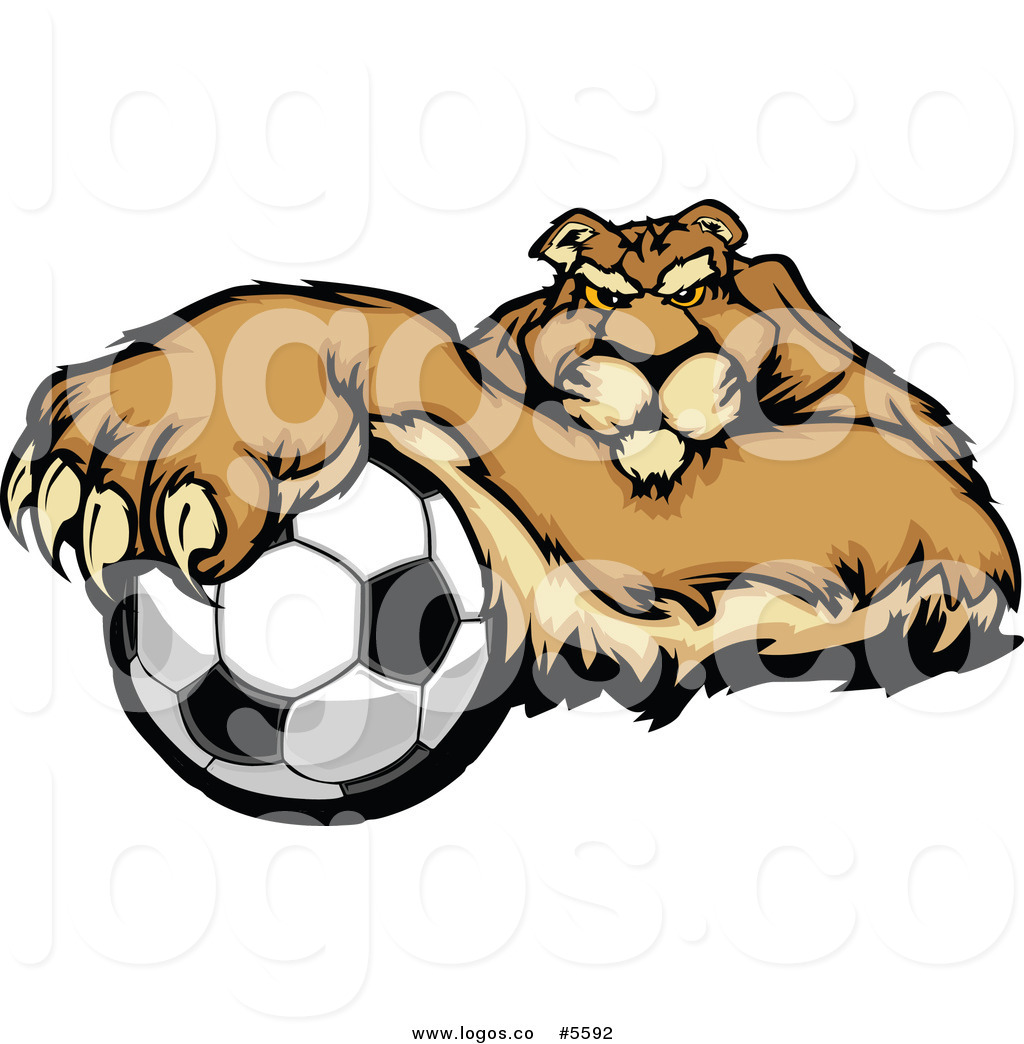 1024x1044 Royalty Free Vector Of A Logo Of A Mountain Lion Puma Resting
