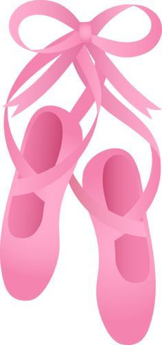 236x503 Free Clip Art Of Pretty Pink Ballet Shoes Ballet Shoes
