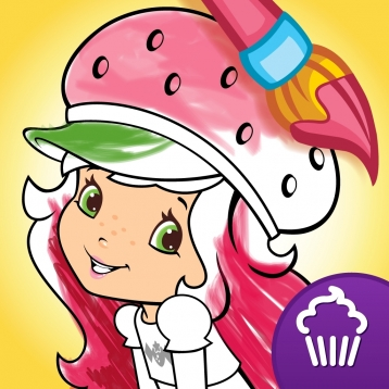 358x358 Strawberry Shortcake Free Coloring Book App For Kids With Animals