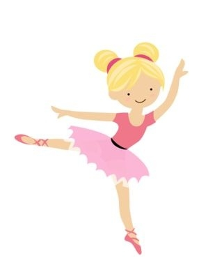 286x400 Girl Dancing Ballet Clipart