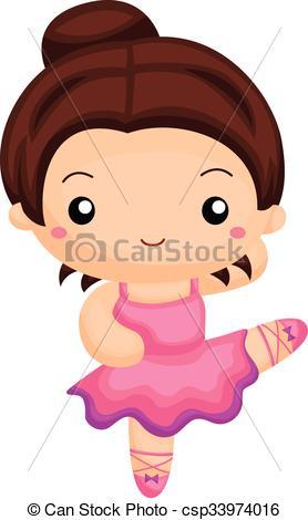 278x470 Girl Dancing Ballet Vector Clip Art