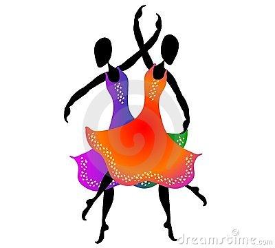 400x360 Ballet Clipart Triple Ballet Dancer Silhouette
