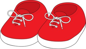 300x173 Baby Clipart Shoes