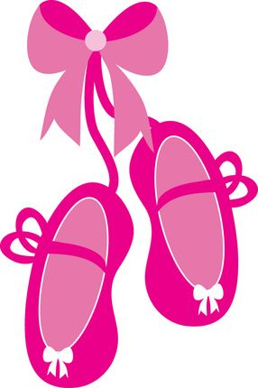 286x430 Pink Ballet Slippers Clip Art Bailarina Clip Art