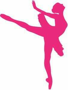 227x300 Ballerina Clipart Pink Silhouette
