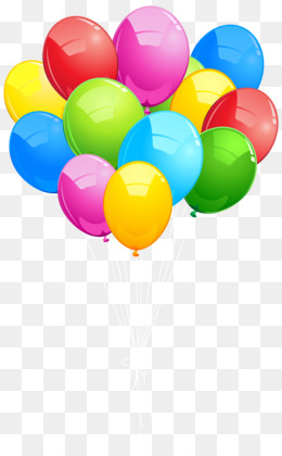260x420 Balloon Birthday Clip Art