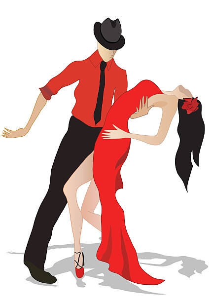 428x612 Collection Of Salsa Dance Clipart High Quality, Free