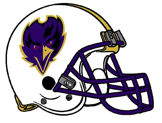 535x408 The Sports Fiddler Baltimore Ravens Concept Helmet, Version 2