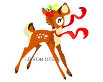 340x270 Deer Baby Bambi Clip Art Clipart Panda
