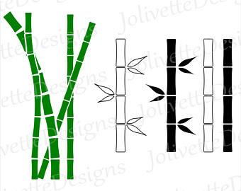 340x270 Bamboo Clipart Etsy