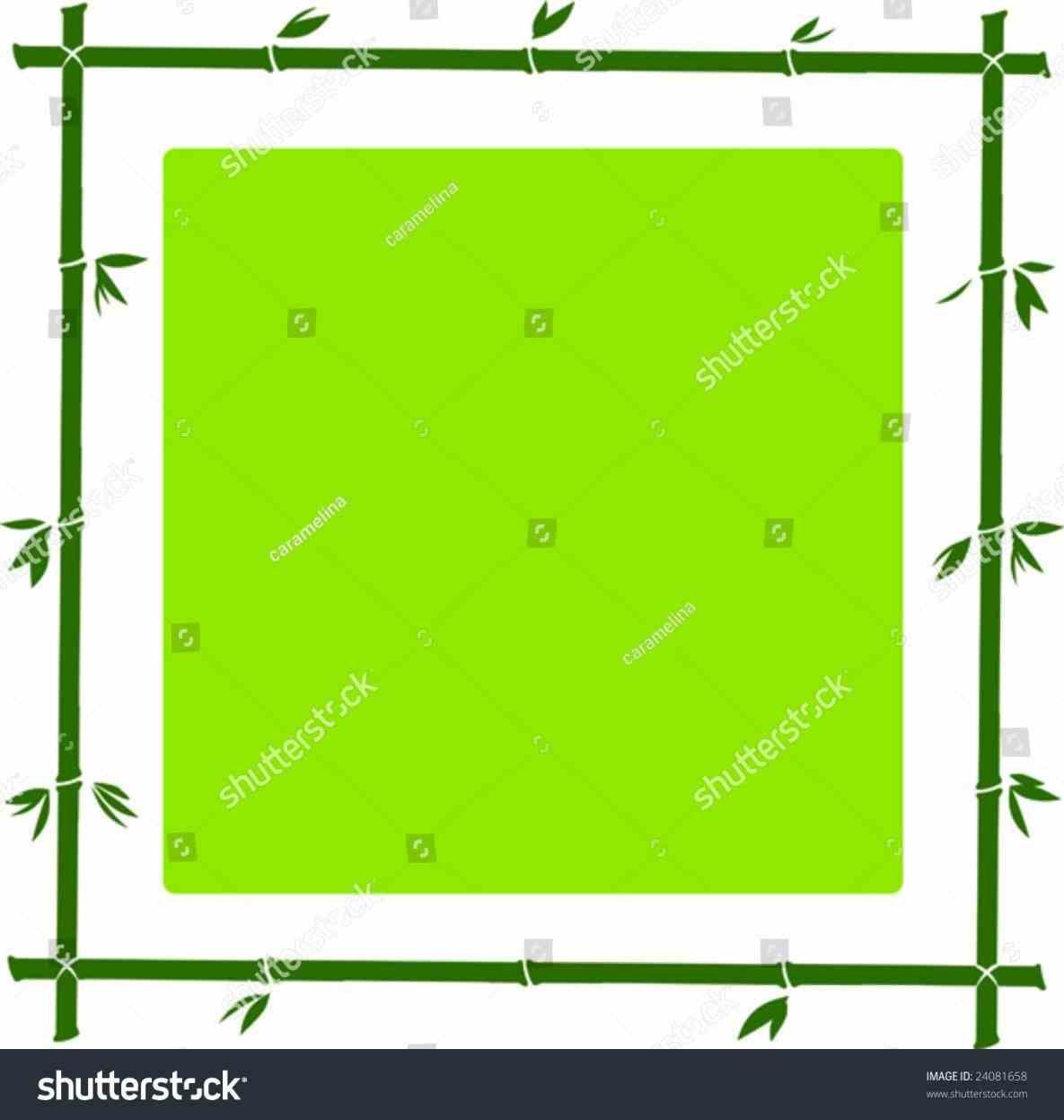 1185x1247 Bamboo Clip Art Border 2018